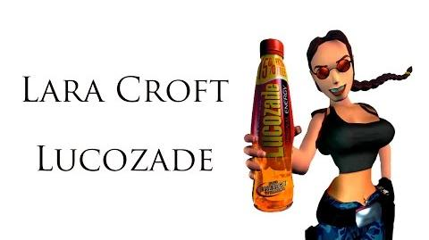 Lara Croft Lucozade commercial 2000