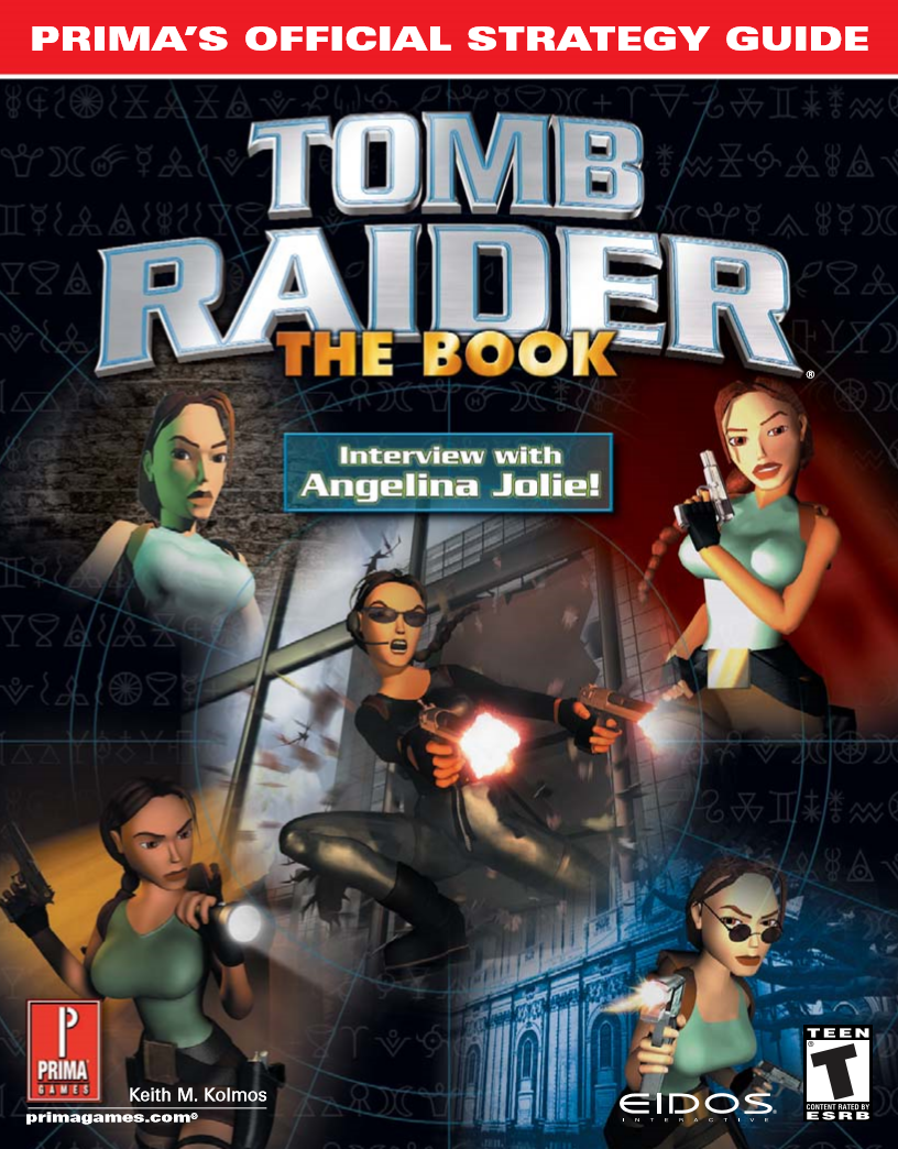 Tomb Raider The Book Prima S Official Strategy Guide Lara