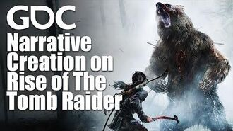 Raid on Rise Narrative Creation on Rise of The Tomb Raider