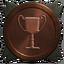 Generic bronze trophy