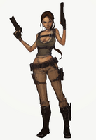 Adventures of Lara Croft Character Concept