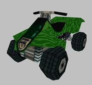 Quad Bike (Green Camoflauge)