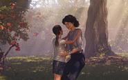 Amelia and Lara