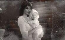 Amelia and baby Lara