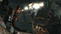 The New Lara Croft Torching