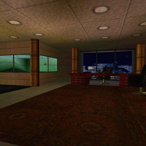 Despacho de Sophia en la sede