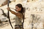 Lara with her Bow & Arrow