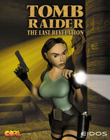 Tomb Raider The Last Revelation front cover