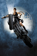 Movie Lara on Bike
