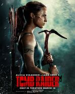Tomb Raider theatrical poster 2