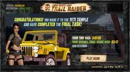 Trail Raider Yeti Temple End
