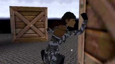 Tomb Raider Chronicles Cutscene 8 - Submarine Infiltration