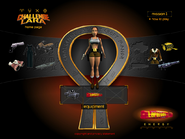 Challenge Lara Equipment Selection