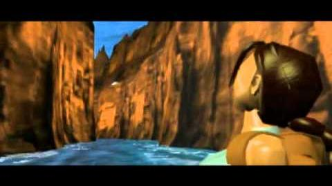 Tomb Raider (1996) Cutscene 07 - Canyon