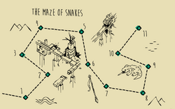 LCGO - The Maze of Snakes