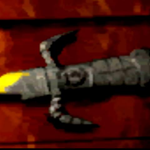 Espada rota.