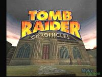 Tomb Raider C Title Screen