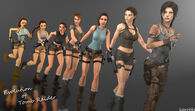 Evolution of tomb raider