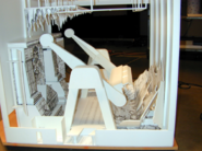 Maquette of the Ride