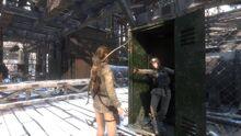 Lara meets Nadia