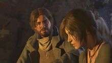 Jacob saves Lara