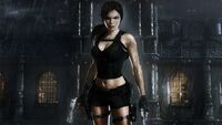 TRU Lara Infront of Mansion