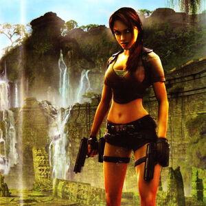 Tomb Raider Legend Artwork Lara Croft Wiki Fandom
