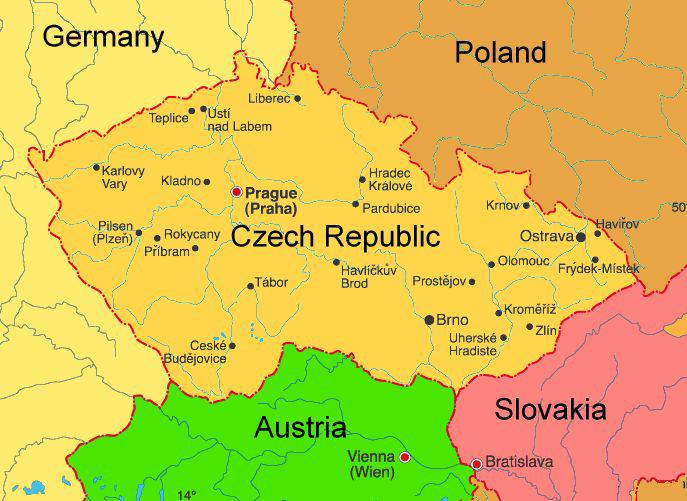 Image Czech Republic Mappng Lara Croft Wiki FANDOM Powered - Czech republic map