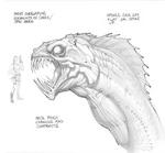 Sea Serpent Sketch