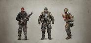 Solarii Warriors Concept