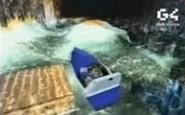 TR III Blue Boat Back