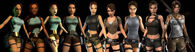 Many Changes of Lara Croft 2