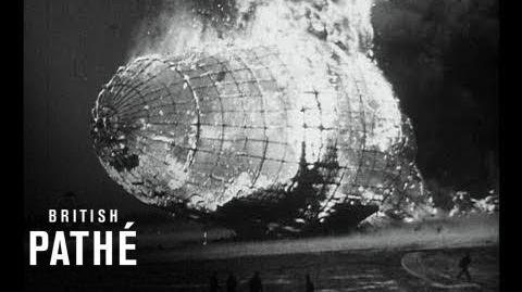 Hindenburg Disaster Real Footage (1937) HD