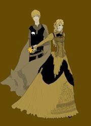 Elayne y Gawyn