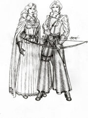 Elayne y Birgitte