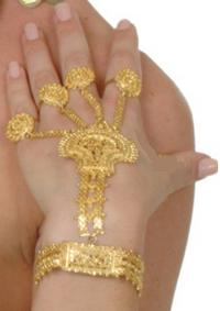 Brazalete y anillos