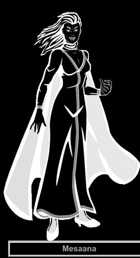 Mesaana Black