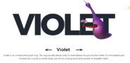 Violet character info
