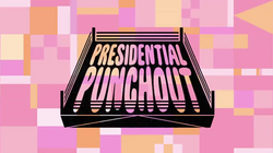 Presidential Punchout Title Card