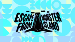 Escape From Monster Island Title Card HD