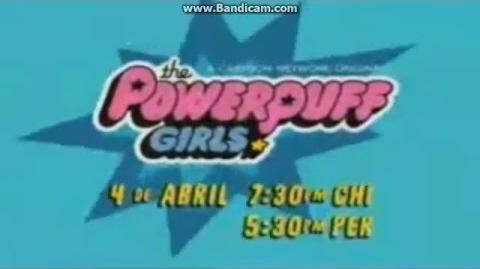 Cartoon Network LA - Promo - Las chicas superpoderosas - Estreno - 4 4 2016