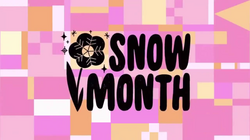 Snow Month Tittle Card HD