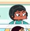Señora de la Cafeteria