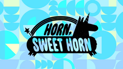 Horn, Sweet Horn Title Card HD