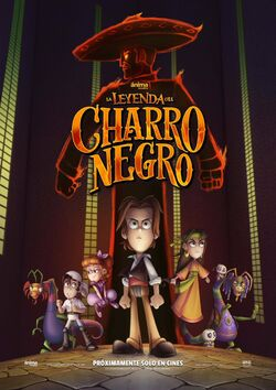 La Leyenda del Charro Negro Poster