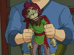 Soy la marioneta de un mono