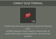 Combat Gear Terminal