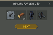Survival Guide reward 30
