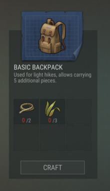 Blueprints 07 Basic Backpack