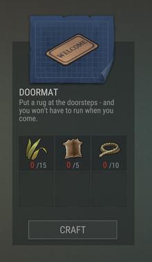 Blueprints 32 Doormat